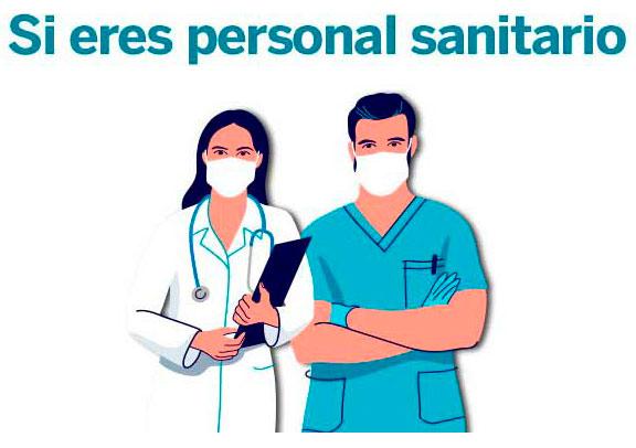 Formulario Personal Sanitario