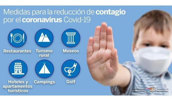 Medidas para la reducción del contagio COVID19