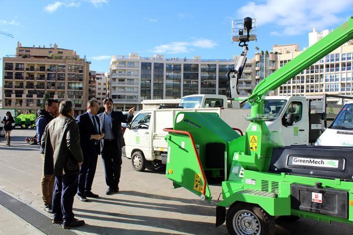 El mantenimiento de parques y jardines será más sostenible al incorporar vehículos eléctricos
