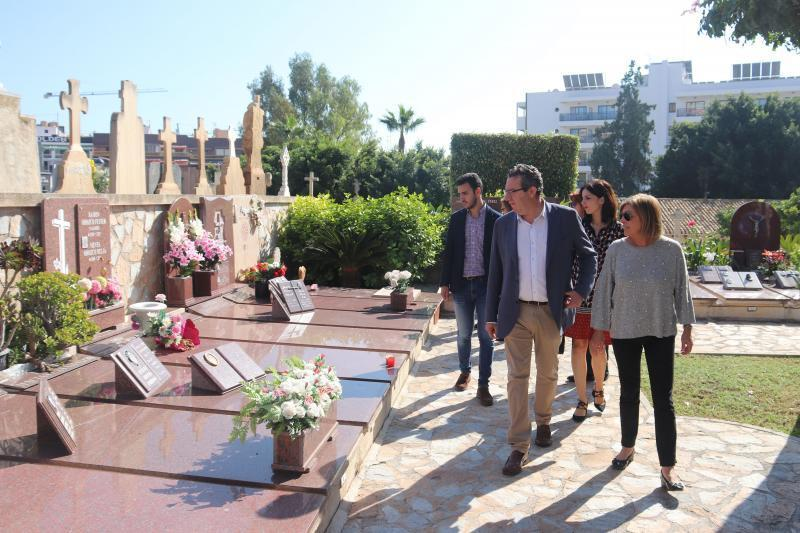 El cementerio de Sant Jaume construirá 132 nuevos nichos antes de final de año