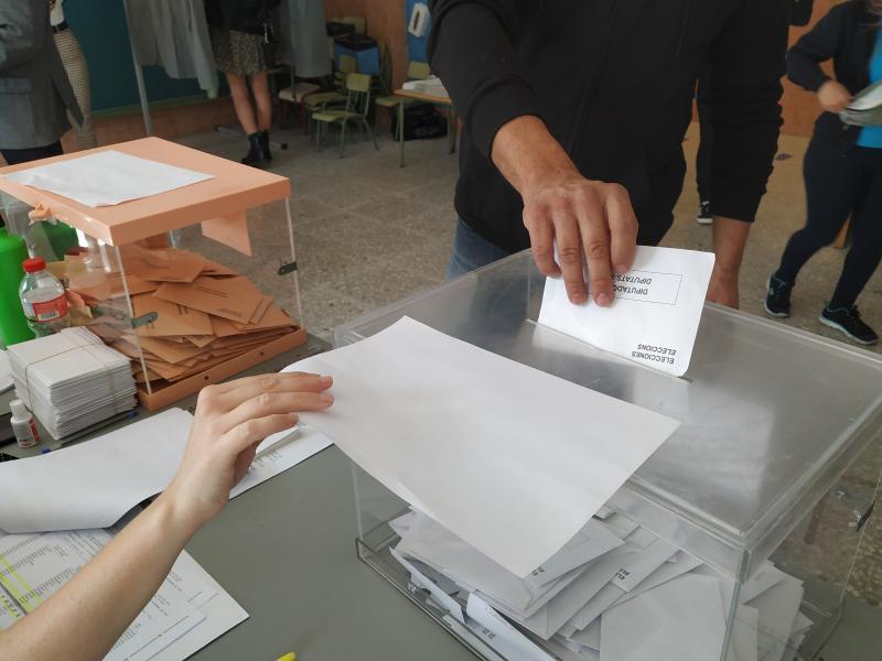 Arranca sin incidencias la jornada electoral