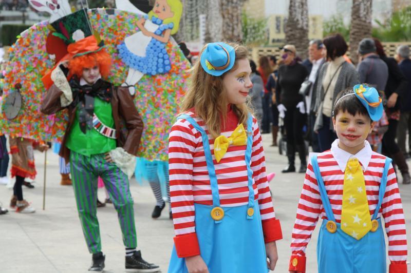 Los centros escolares de Benidorm se adelantan al Carnaval oficial que comienza mañana