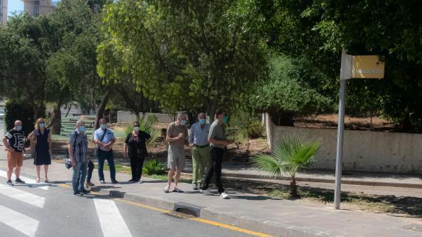 El Ayuntamiento retoma las visitas a los barrios con las asociaciones vecinales tras el confinamiento