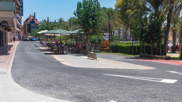 La calle Sant Pere se abre a los peatones