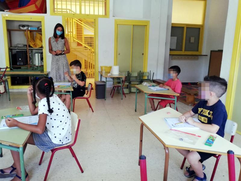 70 menores de Primaria inician hoy el Programa de Apoyo Educativo de Verano (PAEV)