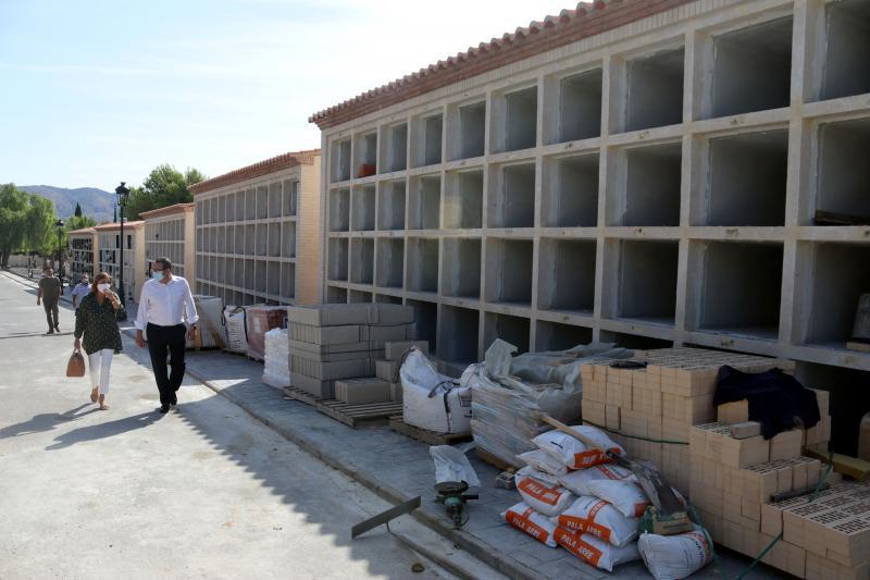 Benidorm amplia la capacitat del cementeri de Sant Jaume amb 120 nous nínxols...