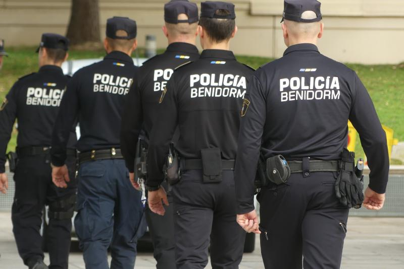 Benidorm establishes a special police device coinciding with the dates when the Major Patron Saint Festivities would be celebrated...
