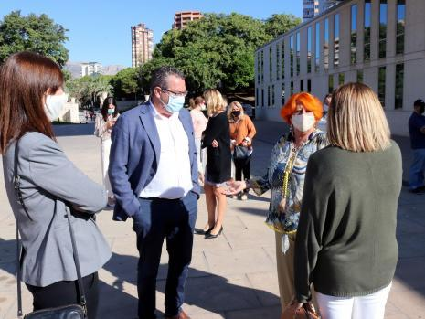 Benidorm conmemora el Día Mundial de la Salud Mental
