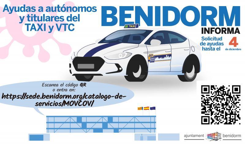 Obert el termini per a sol·licitar les ajudes per a pal·liar els efectes de la Covid-19 en el sector del taxi...