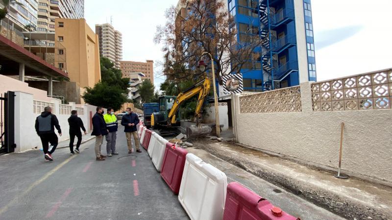 Espai Públic inicia les obres de millora de l'accessibilitat en l'avinguda Català Chana...