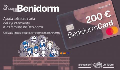 Hui s'ha desenvolupat el tercer lliurament de la targeta BenidormCard d'ajuda extraordinària a famílies...