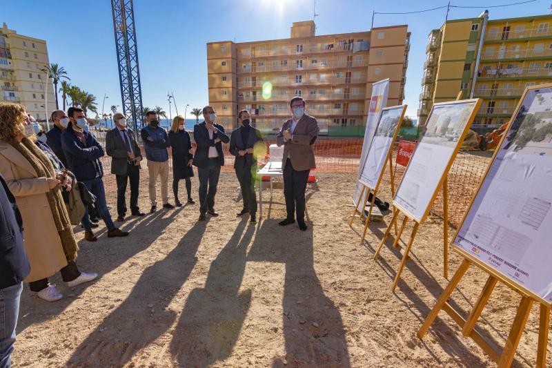 Arranquen les obres del nou aparcament públic de set altures que donarà servici a la zona de Ponent...