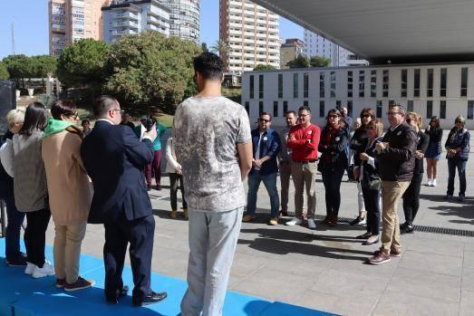 Benidorm conmemora con Aerbeco el Día Mundial de las Enfermedades Raras