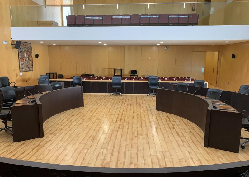 Benidorm celebra el lunes su primer pleno presencial 'post Covid'