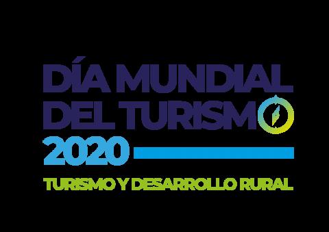 Logo día mundial del turismo 2020