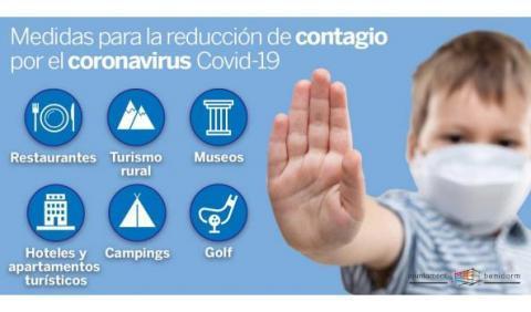 Medidas reducción contagios COVID-19