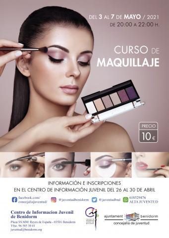 Cartel Curso Maquillaje