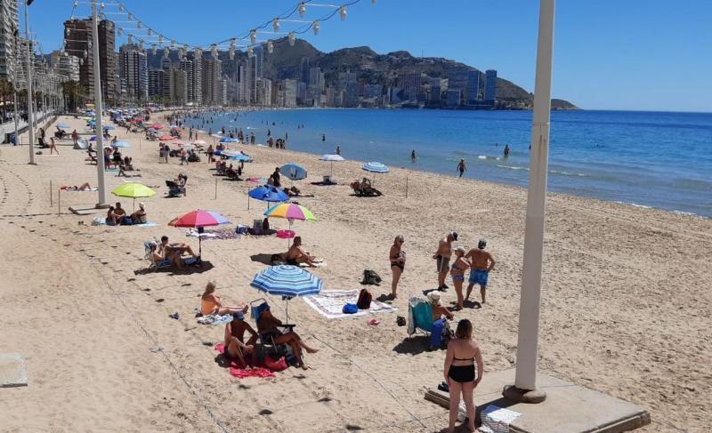 Benidorm: playas seguras, para todos y todos los días