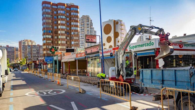Obras calle Almería 2