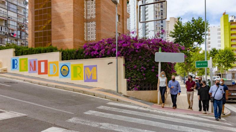 Benidorm ejecutará las reparaciones de la avenida de Montecarlo entre mayo y junio