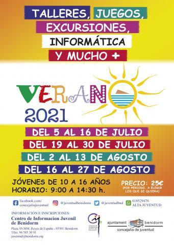 Cartel Programa Verano