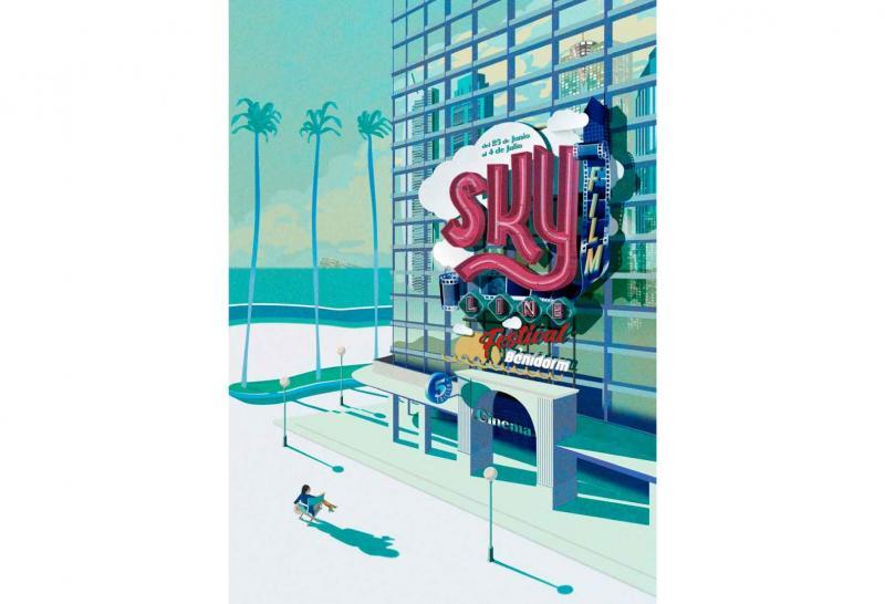 Cartel del Skyline Benidorm Film Festival.