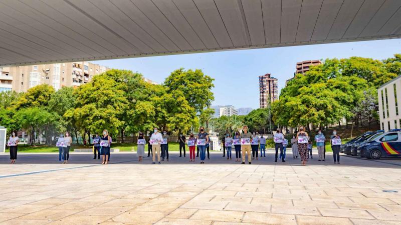 Benidorm y toda España plantan cara a la violencia machista