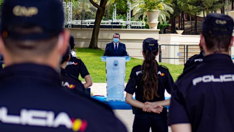 Toni Pérez, durante su intervención.