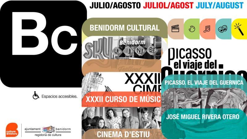 Benidorm amplía su programación de verano con conciertos, teatro, cine y arte en las calles
