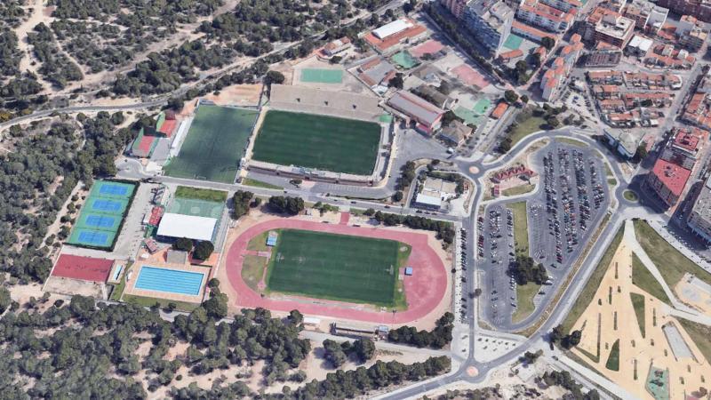 Ciudad Deportiva 'Guillermo Amor'.