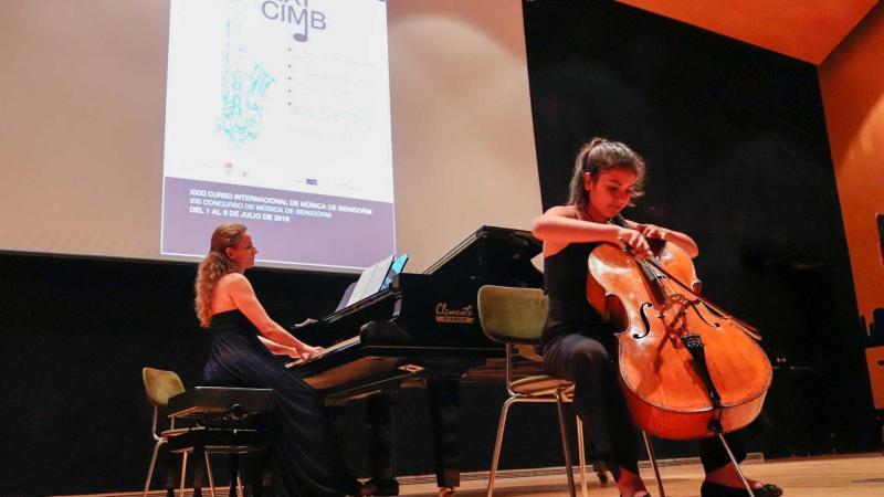 105 alumnos de seis países participan en el XXXII Curso Internacional de Música de Benidorm