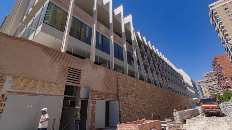 Obras en curso en el Centro Cultural