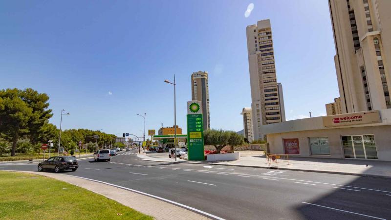 Nuevo acceso directo a la avenida de la Comunitat Valenciana.