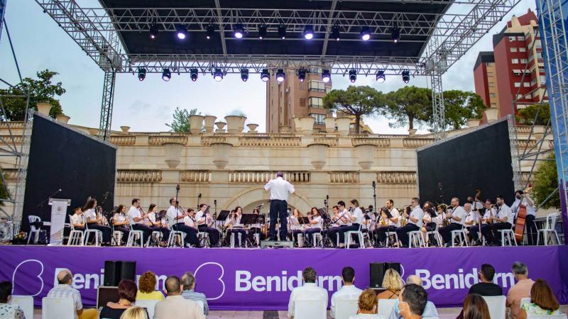Banda Sinfónica de la Unió Musical de Benidorm.