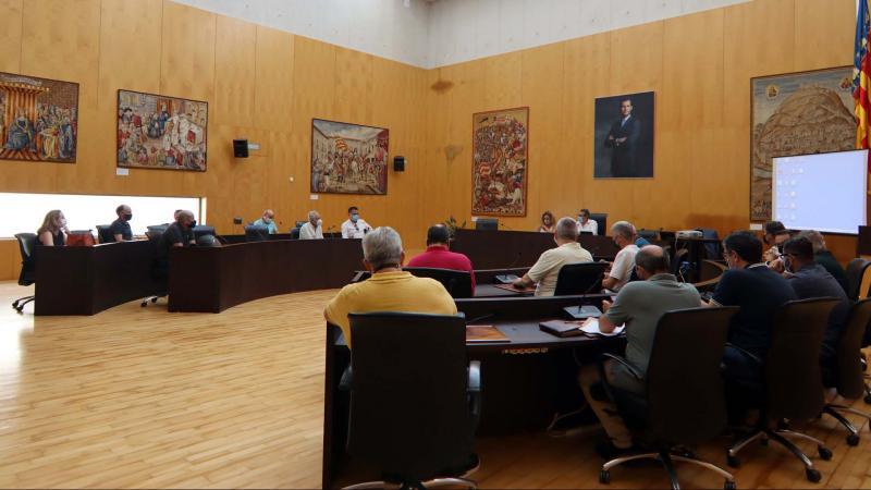 Reunión del Consejo de Escena Urbana.