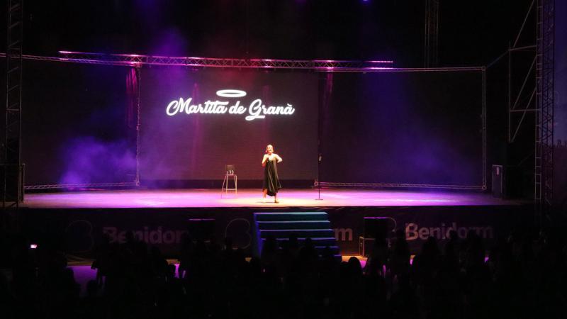 Martita de Graná actúa en Benidorm