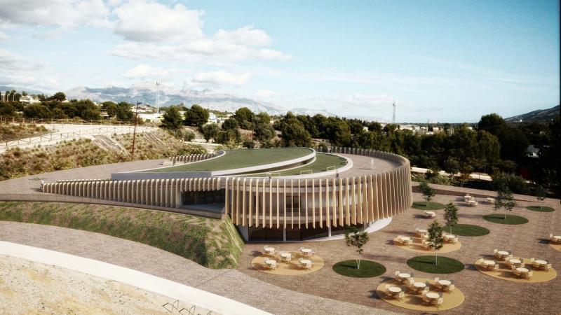 Proyecto de albergue en el Parc de la Séquia Mare.
