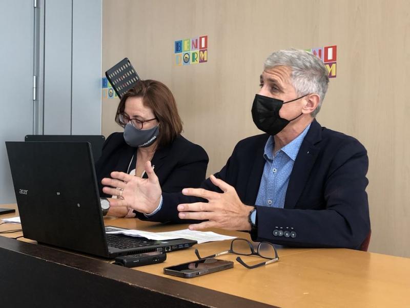 Ciudadanos propone solicitar el Plan Conviure para mejorar la ventilación del ayuntamiento de Benidorm y prevenir contagios