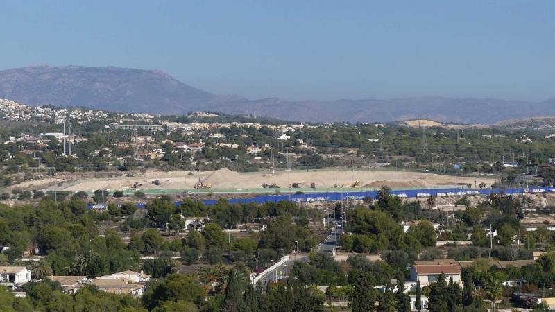 Imagen de archivo de la zona del polígono industrial