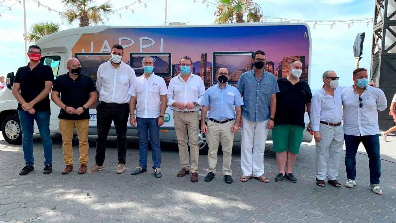 En la presentación de la iniciativa Jappi Experience, el alcalde anima a que sea interoperable y se sume a Visit Benidorm Travel