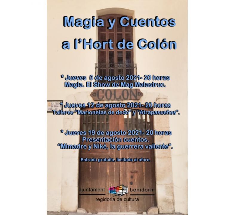 Magia y cuentos en l'Hort de Colón