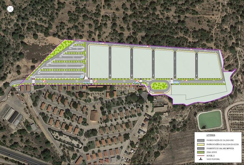 Proyecto ampliación cementerio Sant Jaume