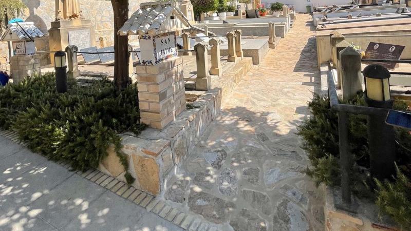 El Ayuntamiento mejora las instalaciones y accesibilidad del cementerio 'Mare de Déu del Sofratge'