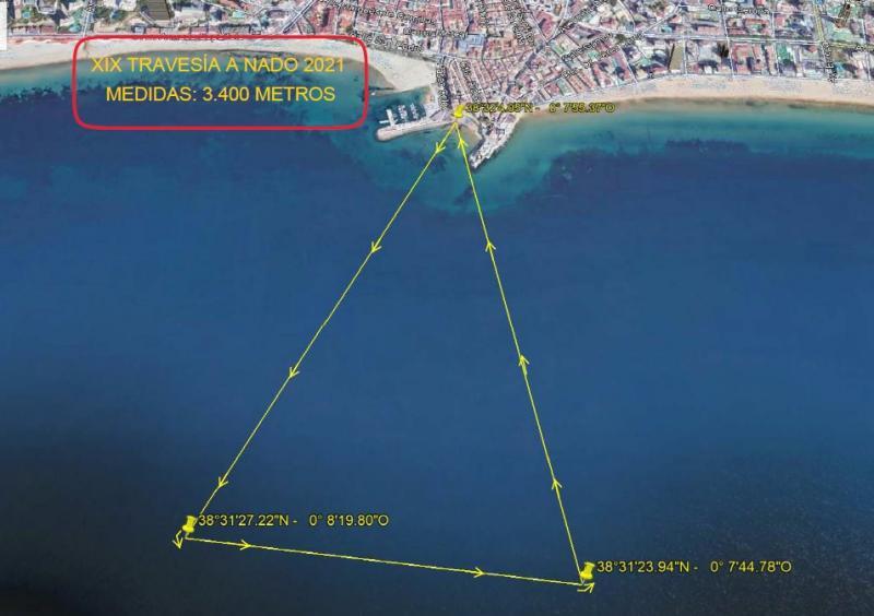 221 nadadores inscritos y 11 en lista de espera para la XIX travesía a nado de la bahía  #Benidorm 2021