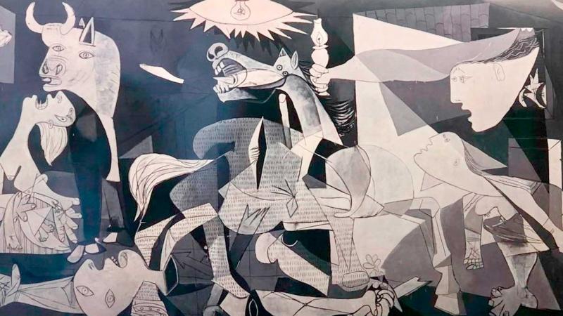 El Guernica de Picasso.