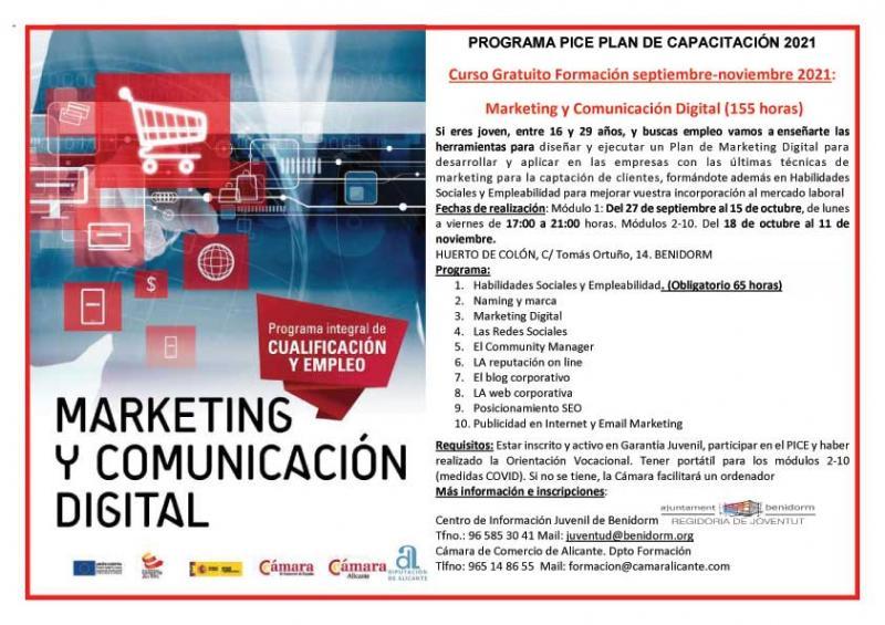 Curso de Marketing y Comercio Digital