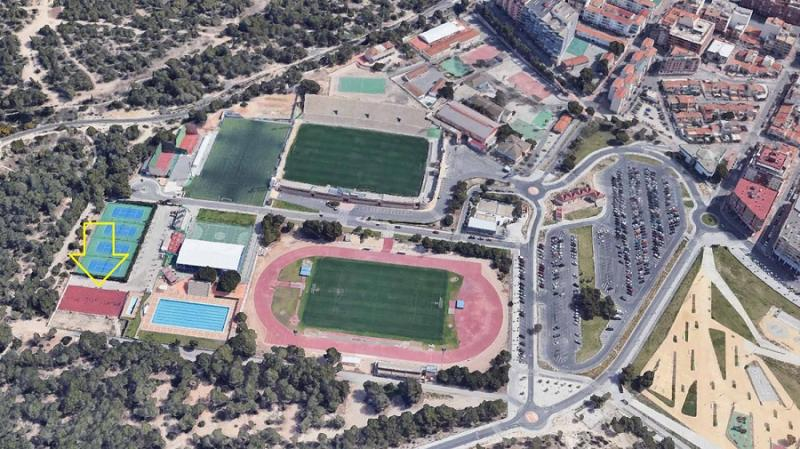 La Ciudad Deportiva 'Guillermo Amor' estrenará este año pista polideportiva renovada