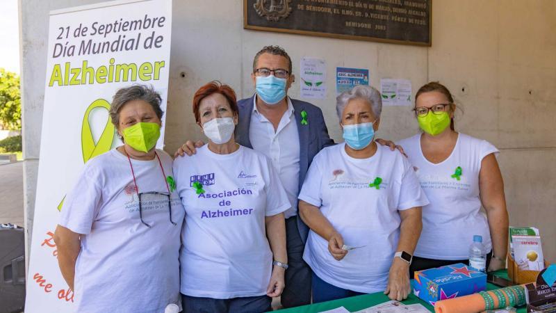 Benidorm celebra el Día Mundial del Alzheimer 2021