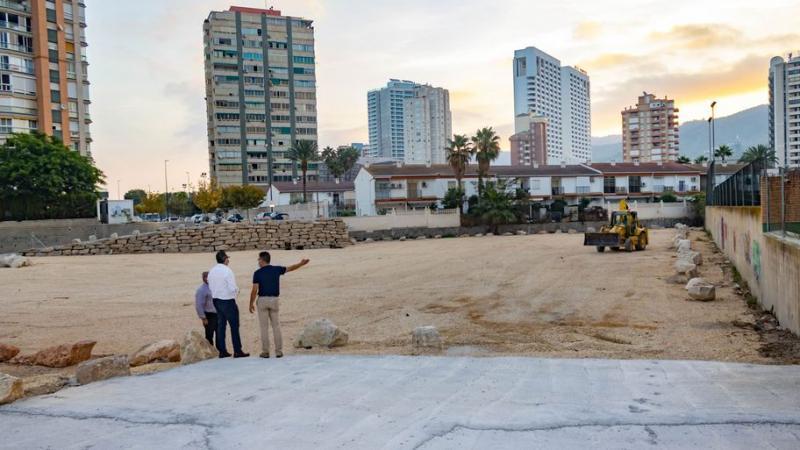 Benidorm crea un nuevo parking disuasorio de unas 250 plazas en Juan Fuster Zaragoza