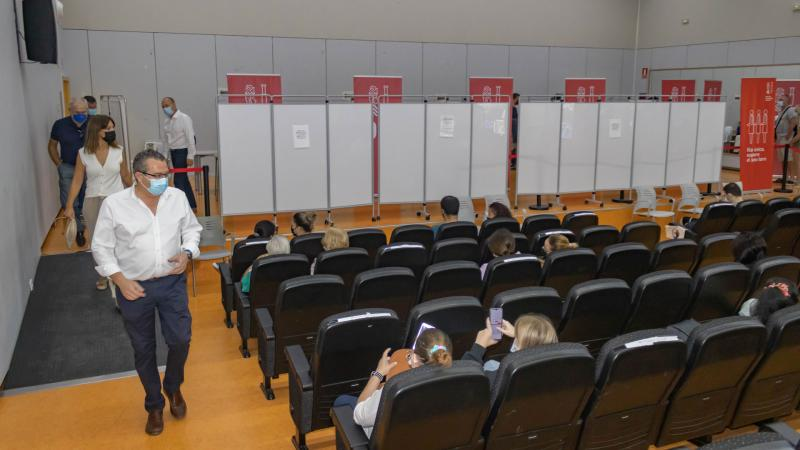 El vacunódromo de La Torreta cierra hoy sus puertas al finalizar la campaña de vacunación masiva